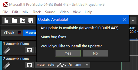 Updating build 442