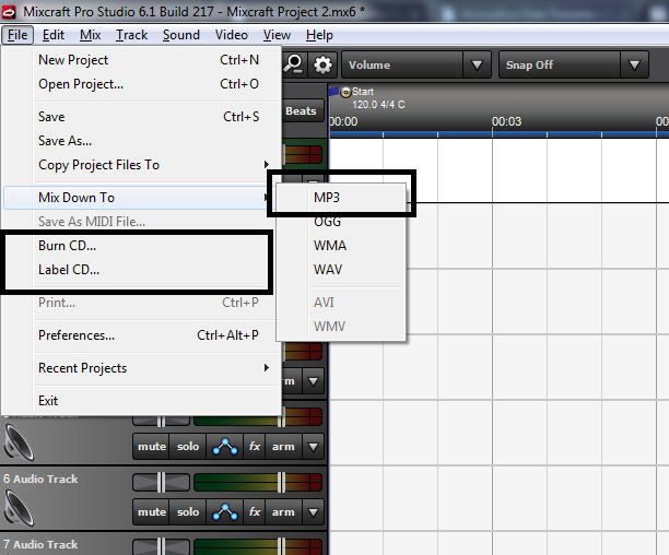 Mixcraft Mixdown and CD Burn.png